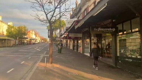 Melbourne amanece desierta tras su primera noche en toque de queda