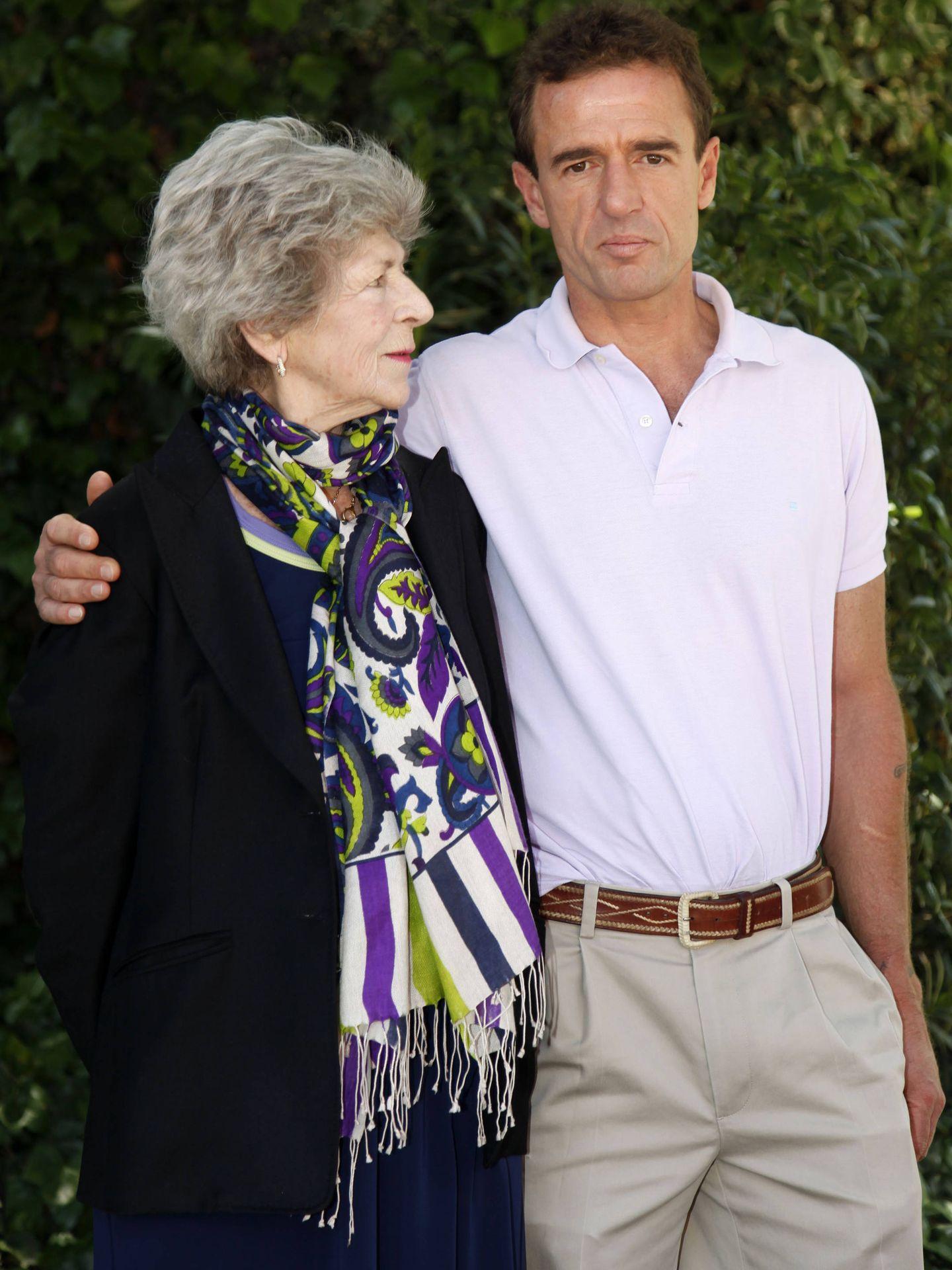 Alessandro Lequio, con Sandra Torlonia. (Getty)