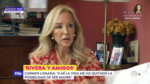 Carmen Lomana se abre en canal ante Fran Rivera en 'Espejo público': Un monstruo me quitó la oportunidad de ser madre
