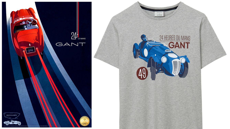 839a63a8b Moda hombre: Gant, marca oficial de las 24 Horas de Le mans