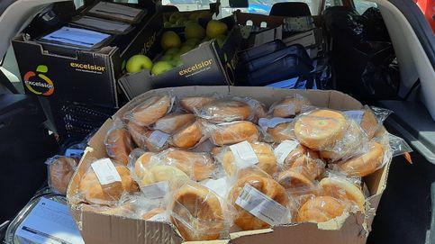 Las ONG salvan de la basura la mitad de los 'menús saludables' que reparte la CAM