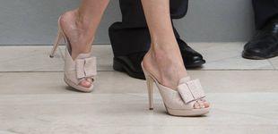 Post de Así son los nuevos (y llamativos) zapatos de la reina Letizia
