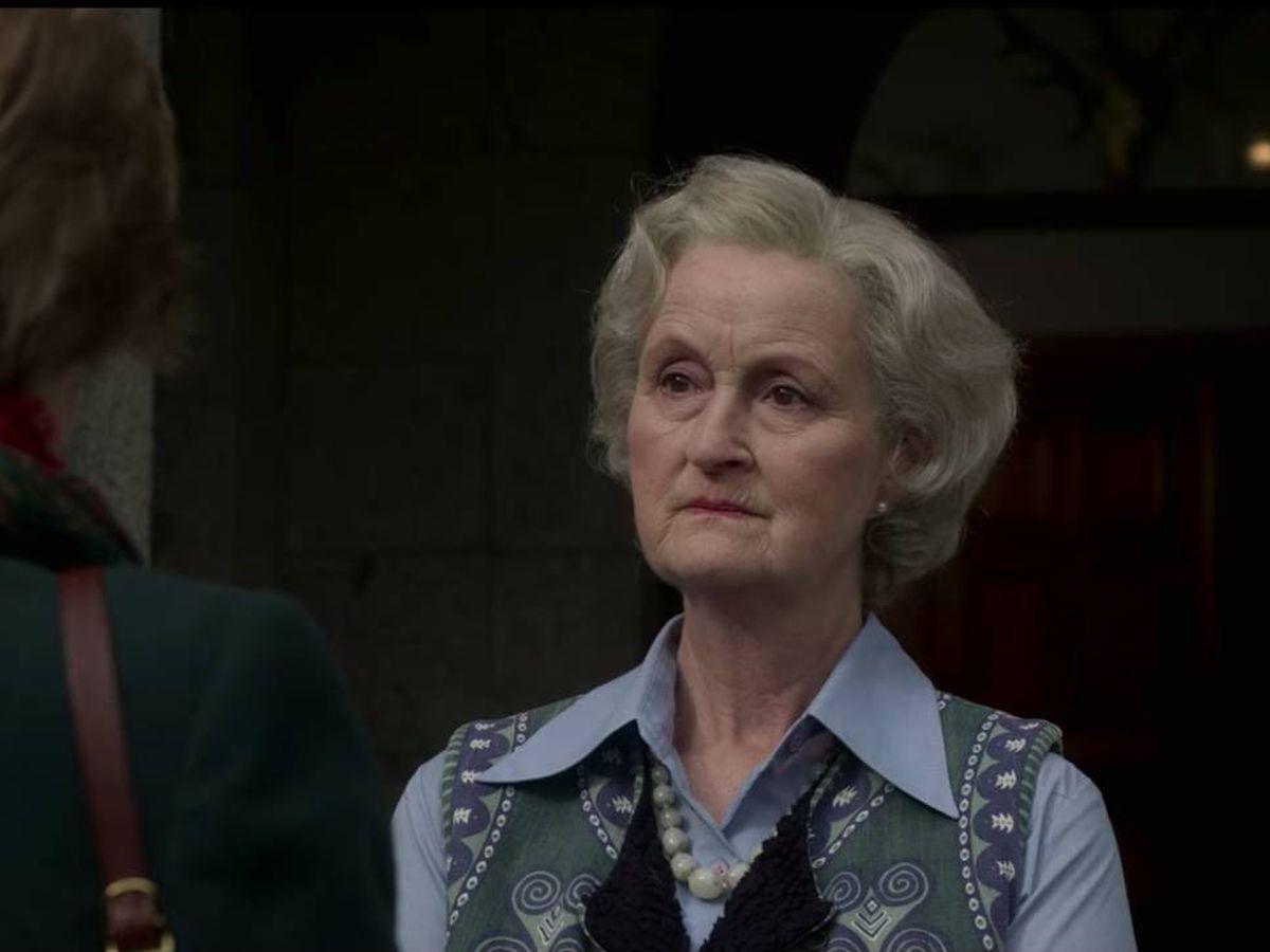 Foto: Lady Fermoy, abuela de Diana, en 'The Crown'. (Netflix)