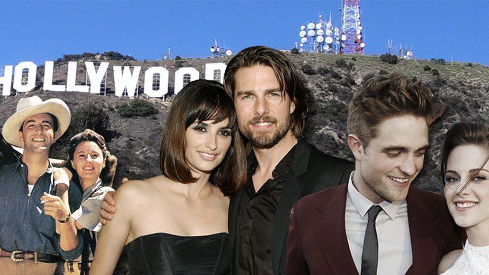 Robert Pattinson y Kristen Stewart y otros romances 'de mentira'