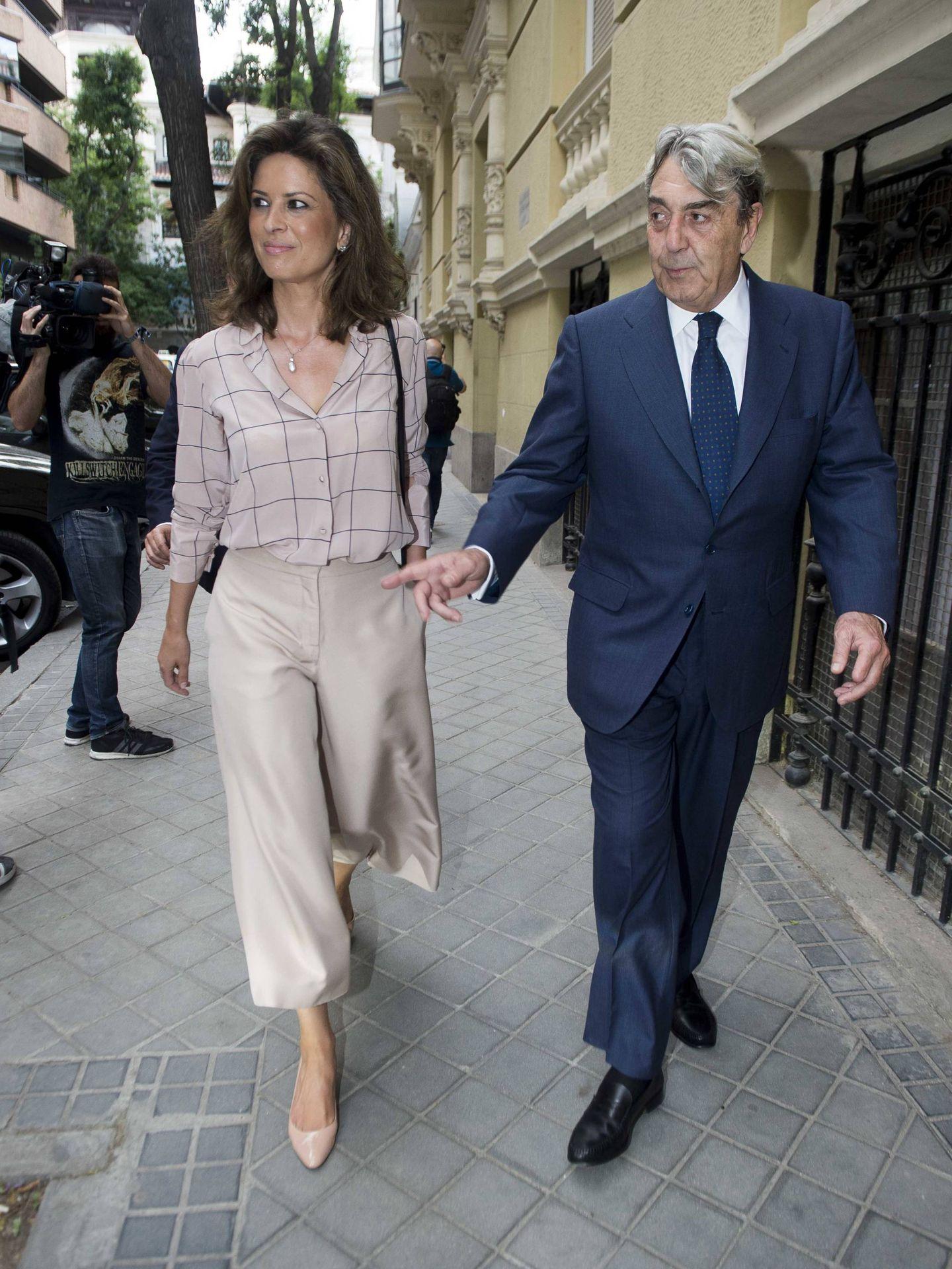 Elena Cué y Alberto Cortina.