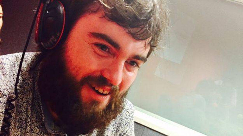 Liam Smith en una entrevista en la BBC.