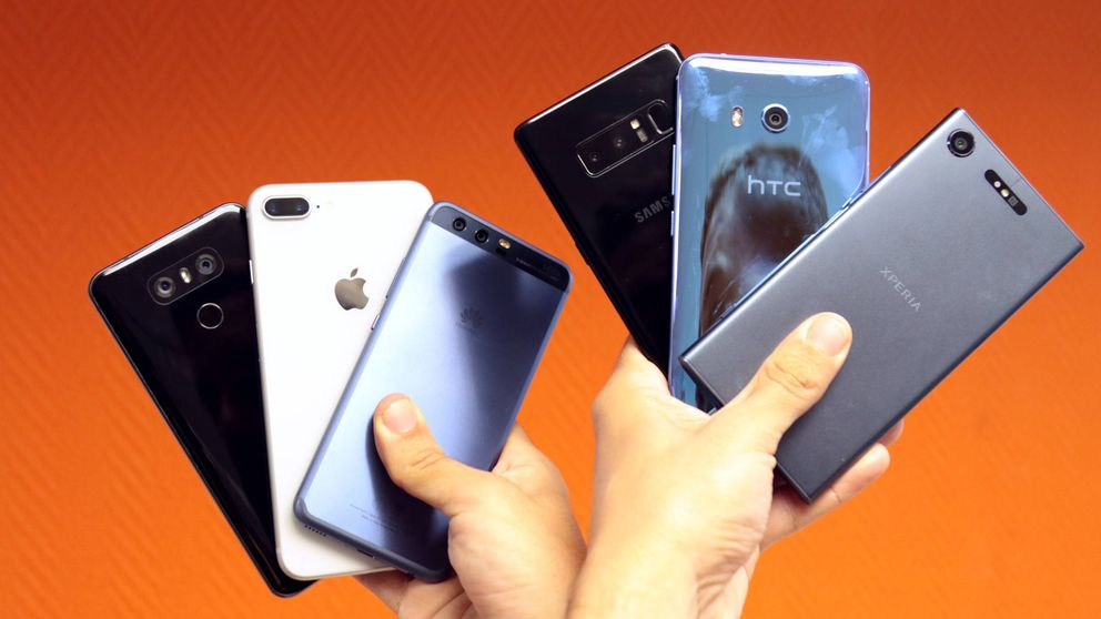 Duelo de cámaras: los mejores 'smartphones' del año frente a frente. ¿Quién gana?