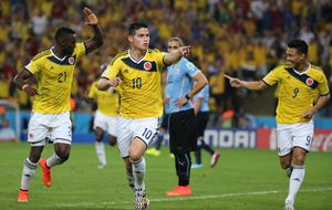 James y Robben no tienen la 'suerte' de Messi y se quedan sin premio