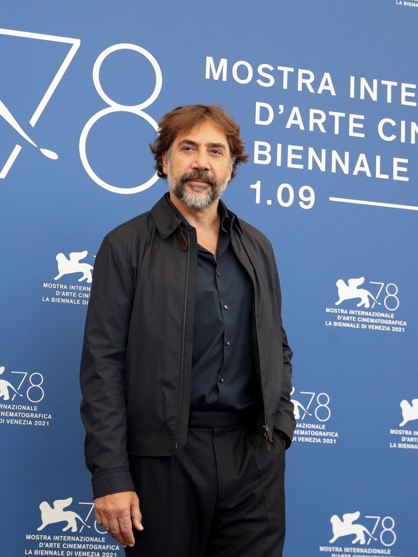 Javier Bardem, en la tercera mañana del Festival de Venecia. (Reuters)