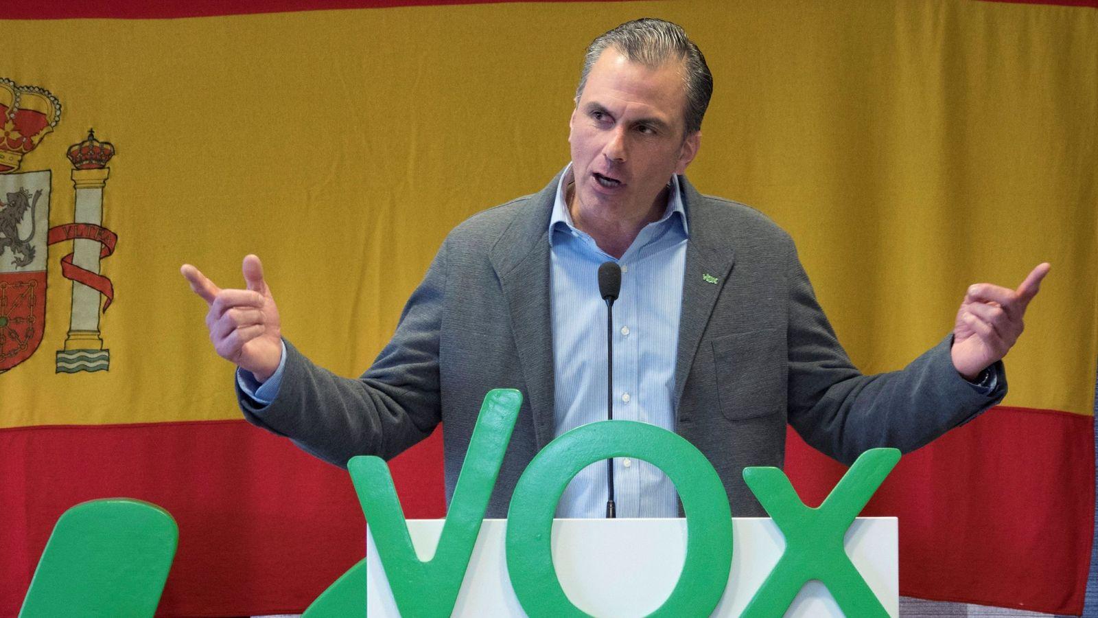 Foto: El secretario general de Vox, Javier Ortega-Smith. (EFE)