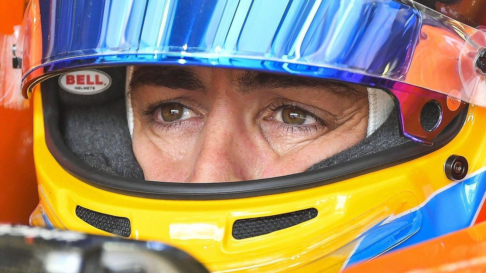 Foto: Fernando Alonso, pensativo. (EFE)
