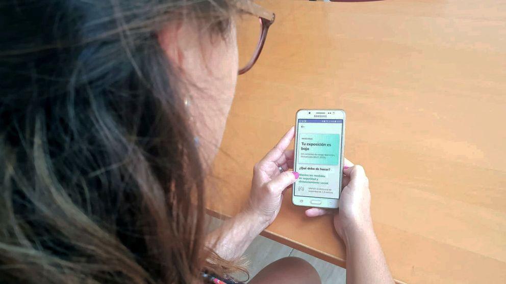La app del Gobierno contra el covid 'dobla' la eficacia de los rastreadores en sus pruebas