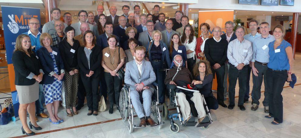 Foto: Presentación del Project MinE internacional, celebrada el pasado 8 de septiembre en Ámsterdam.