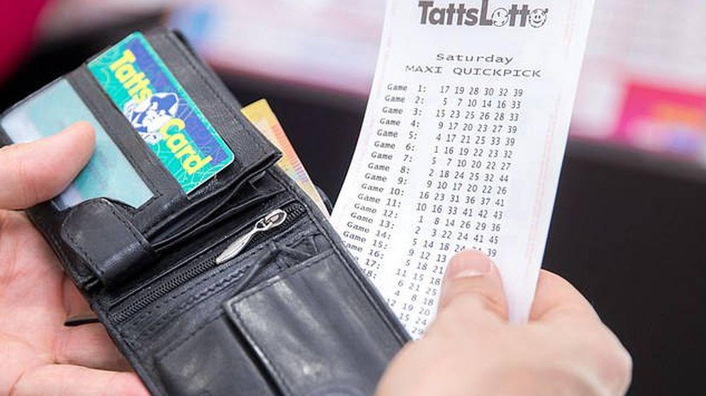 Foto: Creen que los boletos perdidos pueden estar guardados en cualquier cajón (Foto. TattsLotto)