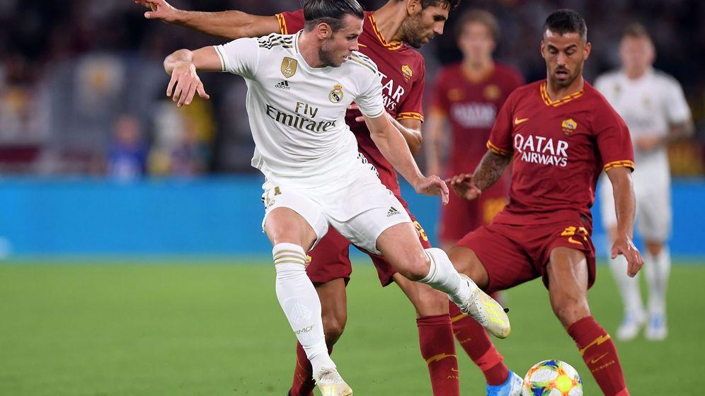 Foto: Gareth Bale durante el Roma-Real Madrid jugado el 11 de agosto. (Reuters)