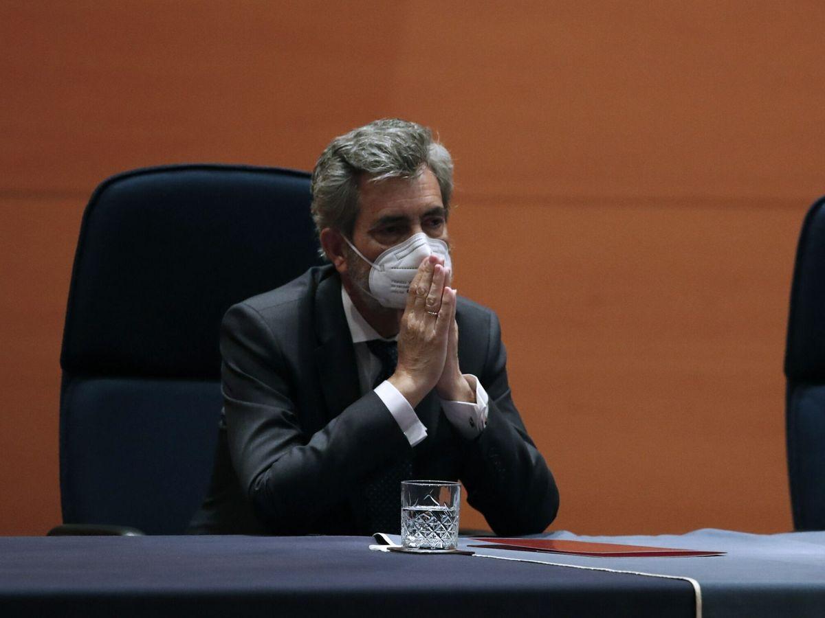 Foto: El presidente del Tribunal Supremo y del CGPJ, Carlos Lesmes. (EFE)