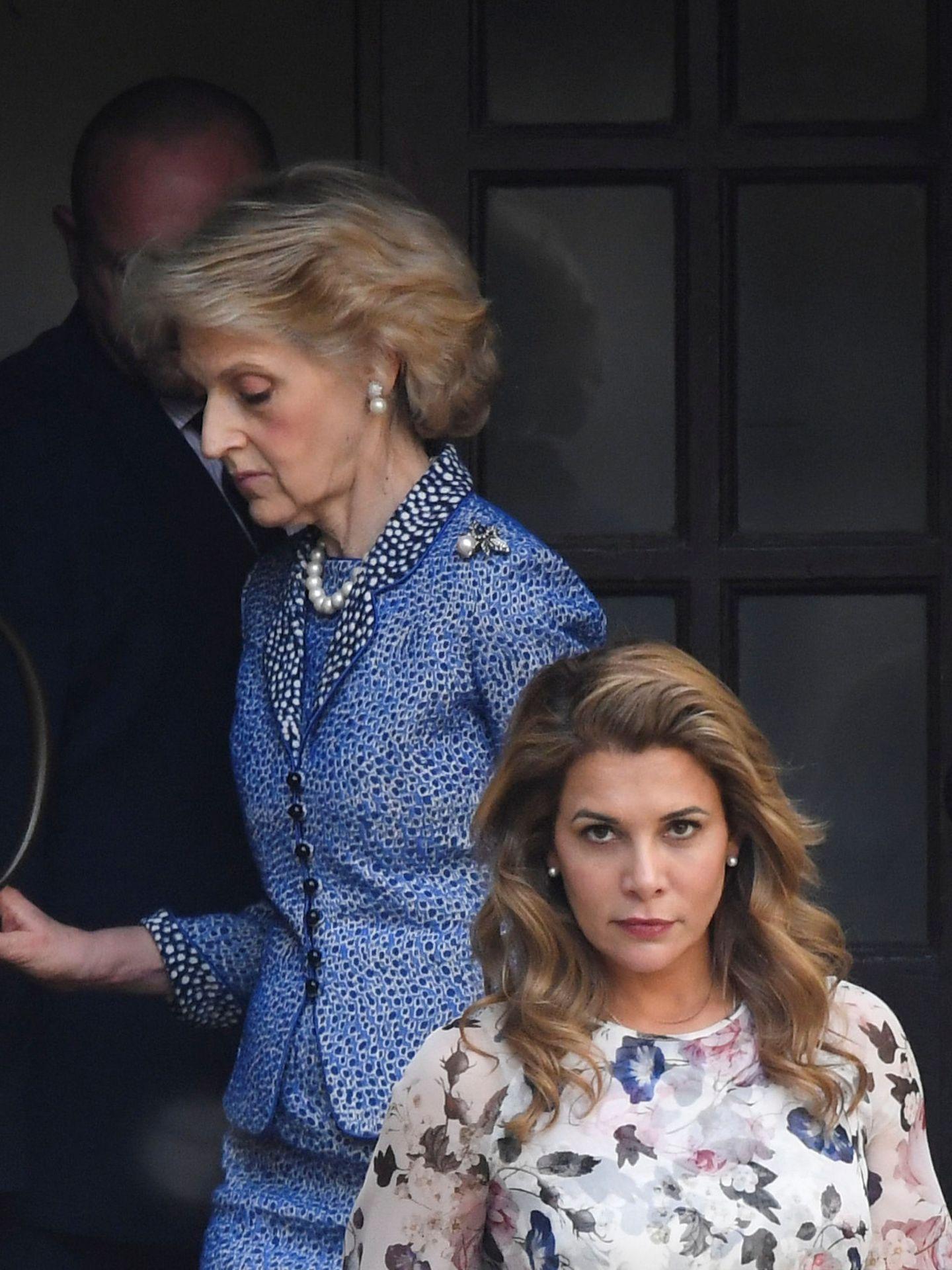 La princesa, fotografiada estas semanas saliendo del tribunal londinense. (EFE)