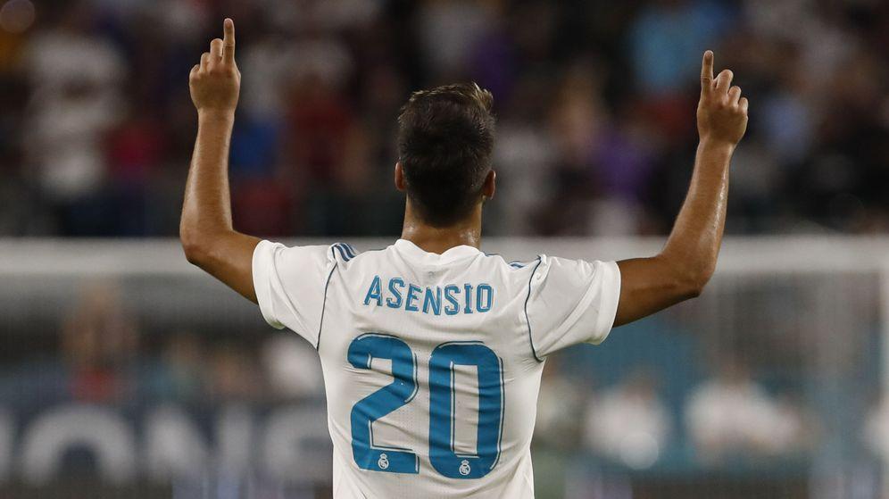 Foto: Marco Asensio se encuentra a un fantástico nivel. (EFE)