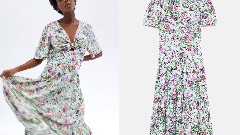 Vestido de Zara, colección 'Mum' (39,95€).