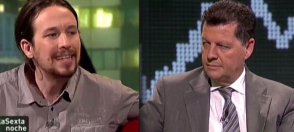 Foto: Las tertulias han catapultado a Pablo Iglesias a convertirse en un líder de opinión.