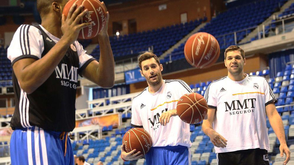 Foto: Rudy y Felipe en un entrenamiento durante la pasada edición de Copa.