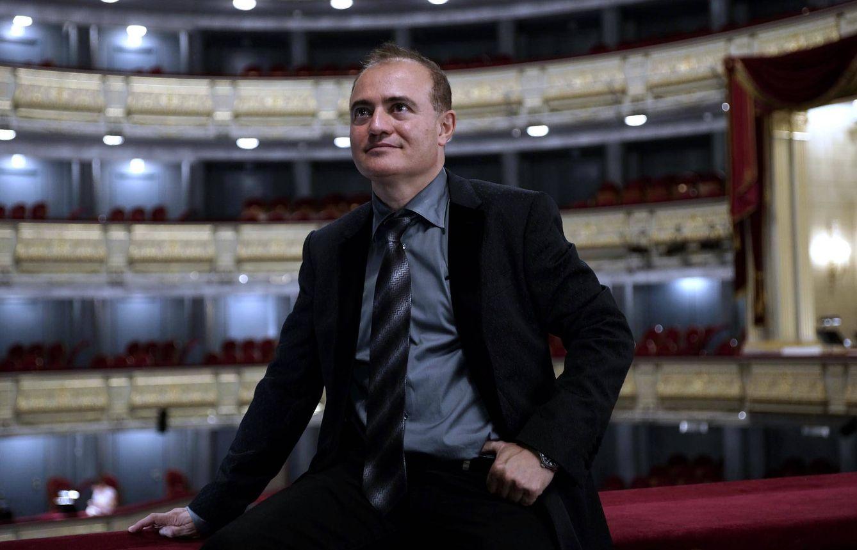 Foto: Joan Matabosch en el Real (Javier del Real/Teatro Real)