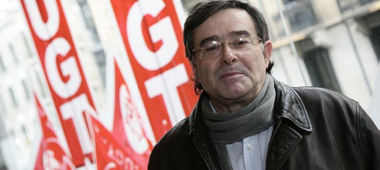 Foto: El sindicalista Manuel Fernández 'Lito' (foto: UGT)