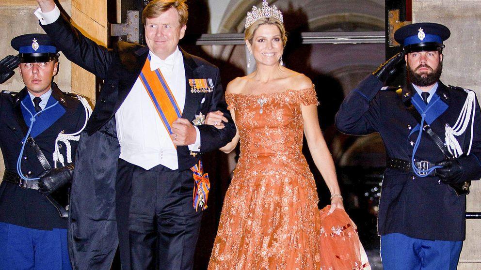 Máxima de Holanda, lección de elegancia con un 'viejo' vestido