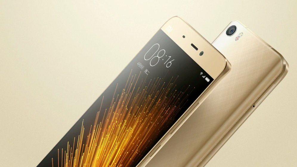 Foto: El Mi5 apunta alto. Quiere competir con el iPhone y el Galaxy. (Xiaomi)