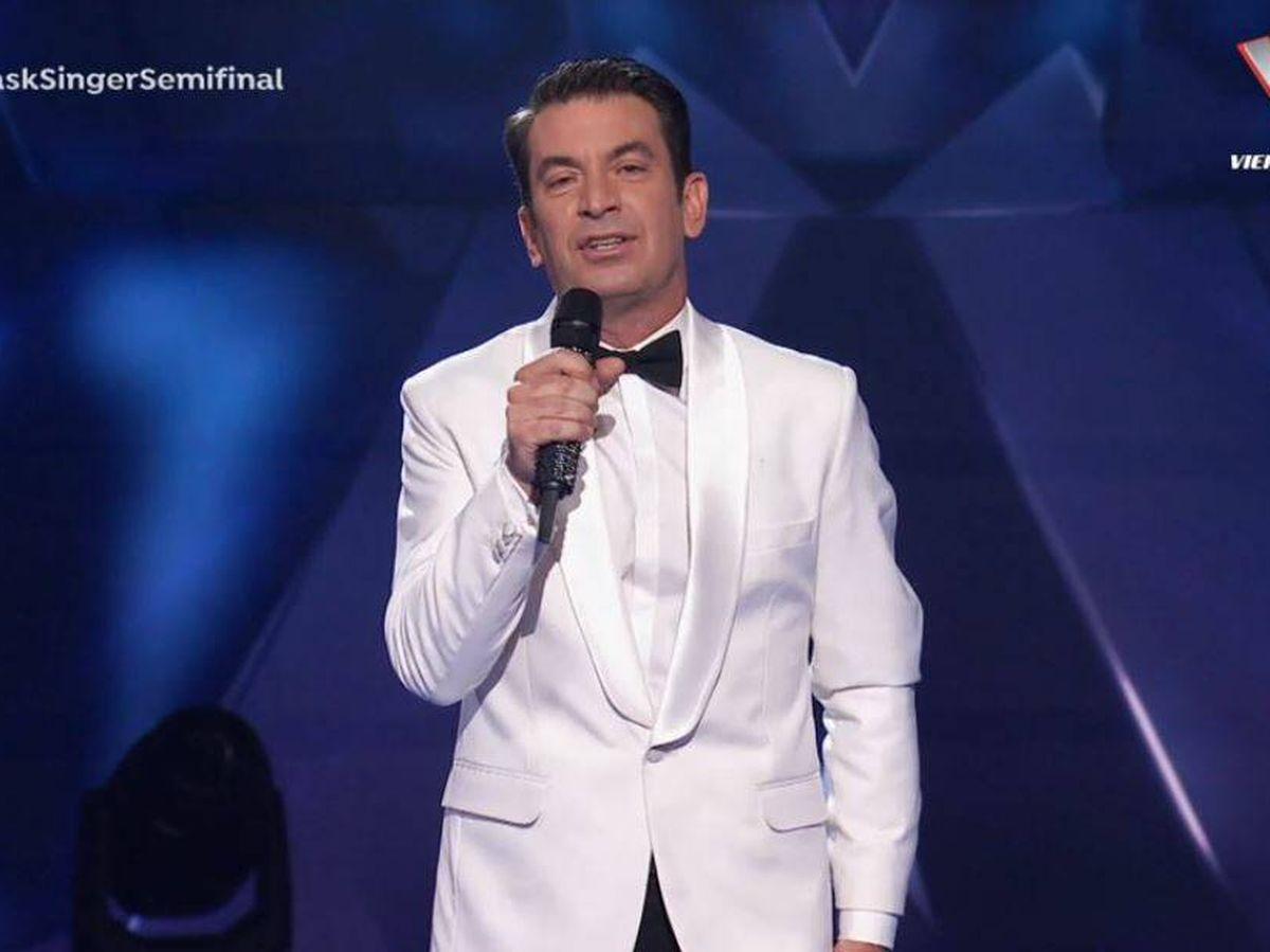 Foto: Arturo Valls, presentador de 'Mask Singer'. (Atresmedia Televisión)