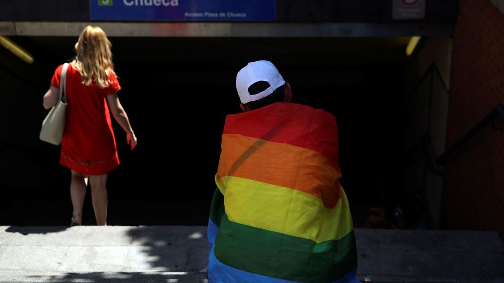 Foto: Entrada del metro de Chueca | Reuters