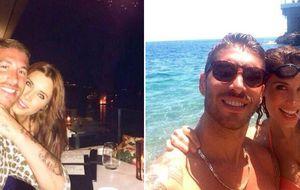Pilar Rubio y Sergio Ramos disfrutan de la Costa Azul