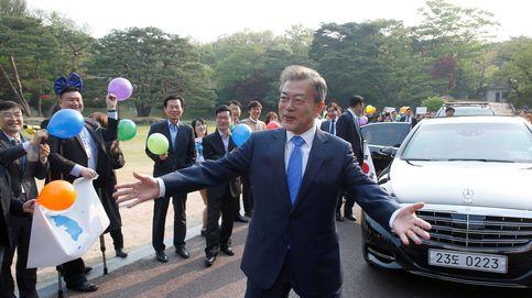 Histórico encuentro entre los presidentes de las dos Coreas