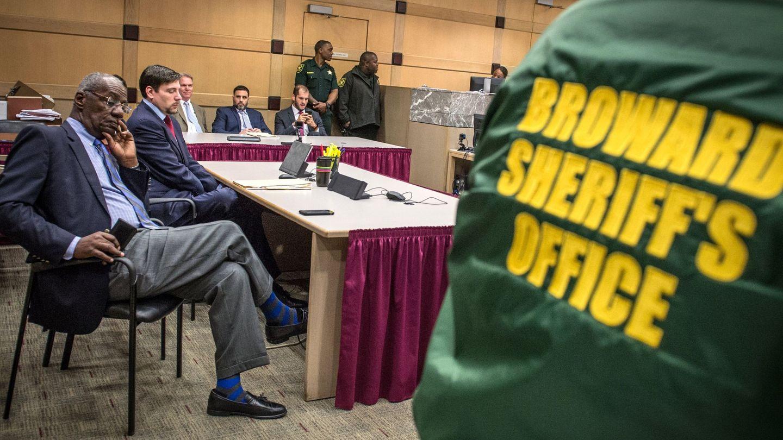 El fiscal Chuck Morton asiste a una audiencia contra el español-estadounidense Pablo Ibar (EFE)