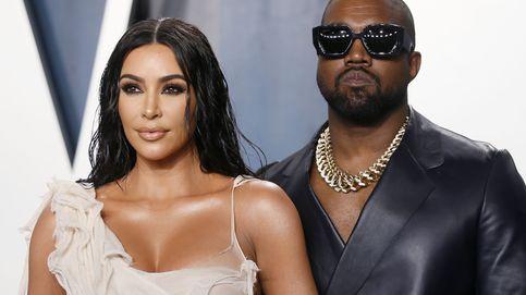 Kim Kardashian y su traje de látex para el debut religioso de Kanye West