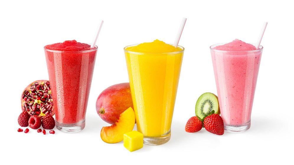 Foto: Granizados de frutas. (iStock)