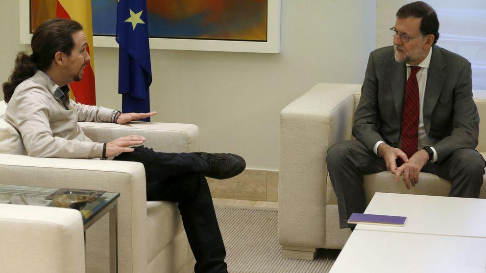Rajoy e Iglesias, juntos en el bloqueo al PSOE