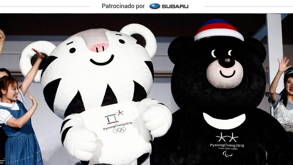 Foto: Por primera vez, unos Juegos tendrán dos mascotas (Foto: EFE / Jeon Heon-Kyun)