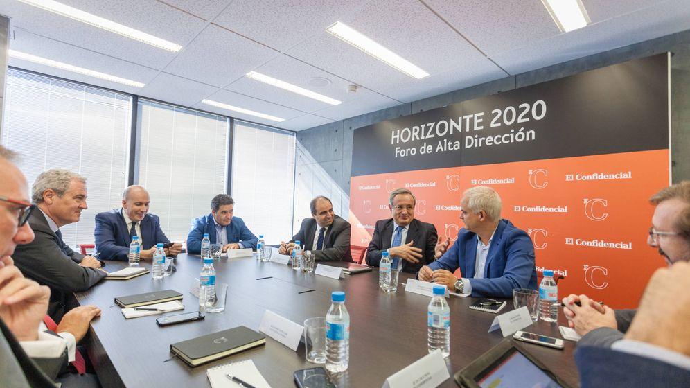 Foto: Foro de alta dirección Horizonte 2020 PwC y El Confidencial. (Foto: Jorge Álvaro Manzano)