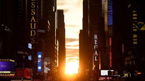 Llega la puesta de sol más impresionante del mundo: así es el 'Manhattanhenge'