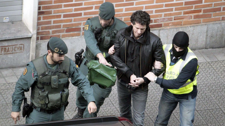 Operación de la Guardia Civil contra el aparato de abogados de ETA el pasado enero (EFE)