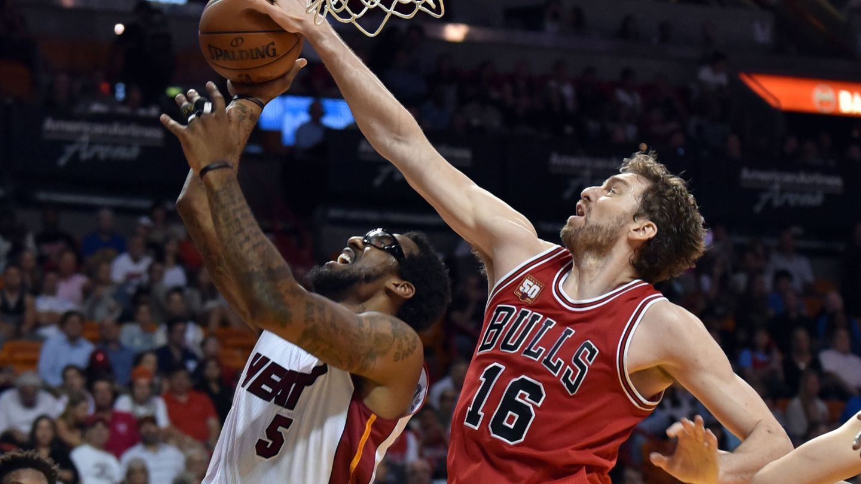 Pau Gasol en los Chicago Bulls. (Reuters)