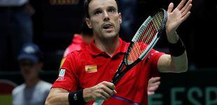 Post de Palo para España en la Copa Davis: Roberto Bautista abandona por el estado de salud de su padre