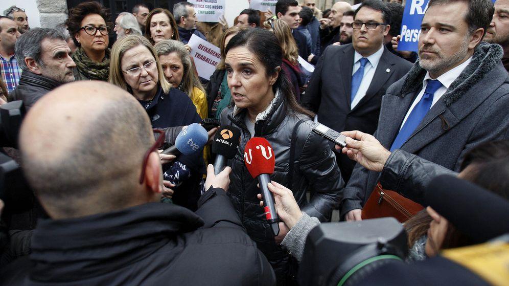 Foto: La expresidenta del Parlamento de Galicia Pilar Rojo. (EFE)
