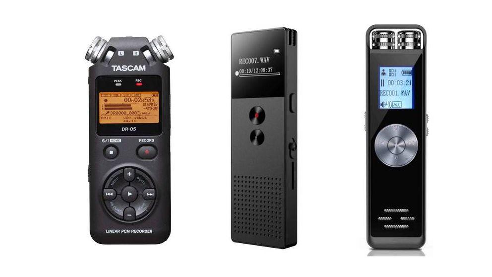 Los mejores dictáfonos para transcribir notas de audio