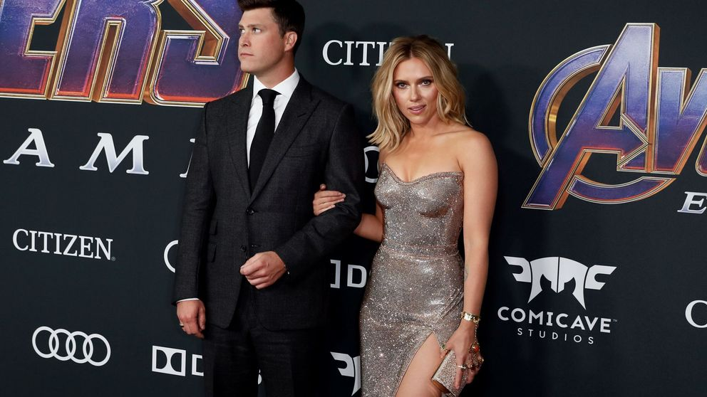 El look ¡guau! de Scarlett Johansson en la première de 'Avengers'