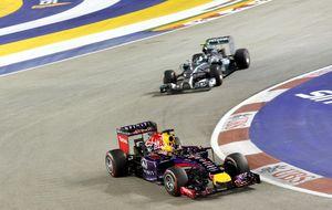 Red Bull contra Mercedes: ¿los nuevos V6 ya no son de 'carreras'?