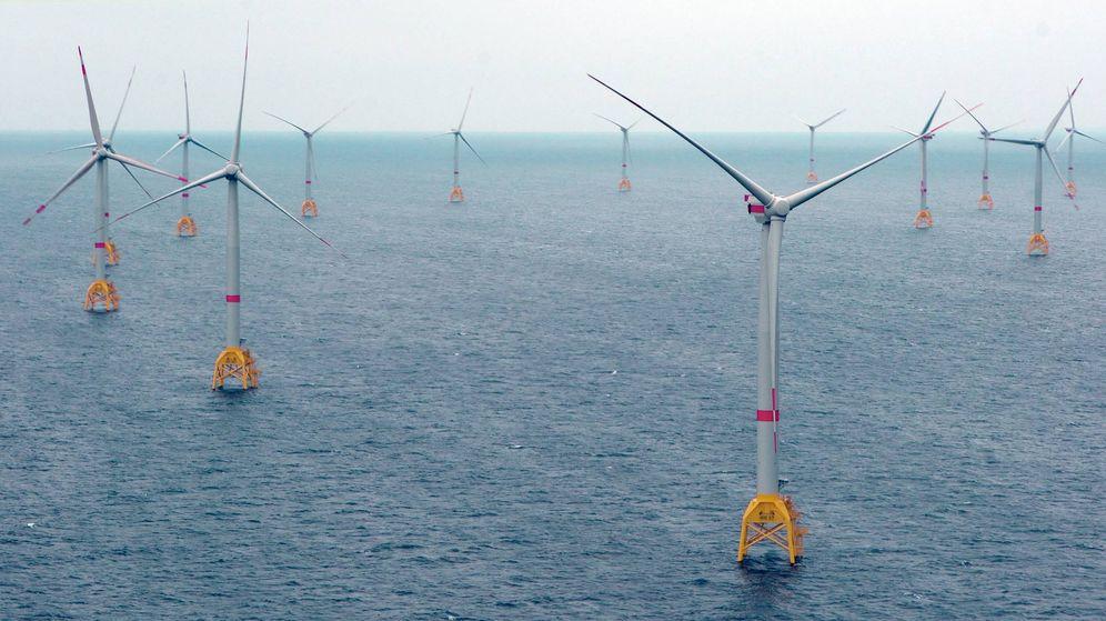Foto: Parque eólico de Wikinger, en el Mar del Norte, en Alemania. (Fuente: Iberdrola)