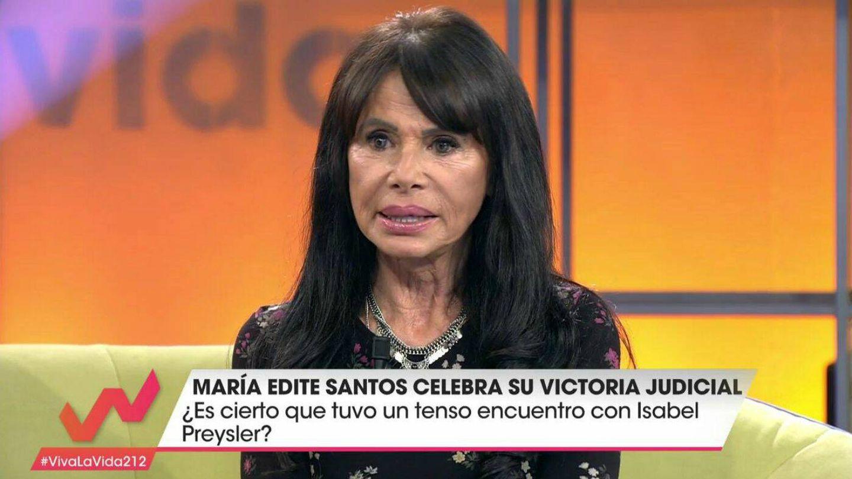 María Edite en 'Viva la vida'. (Mediaset)