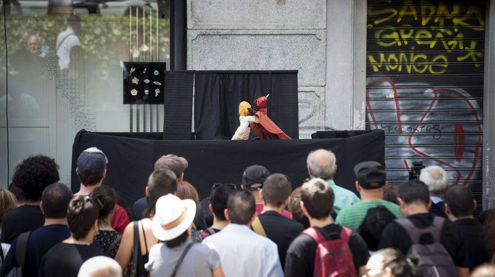 Foto: ActuaciÓn titiriteros investigados
